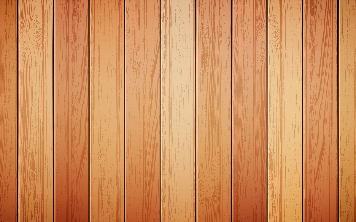 Wood Background Realistic Vector Illustration